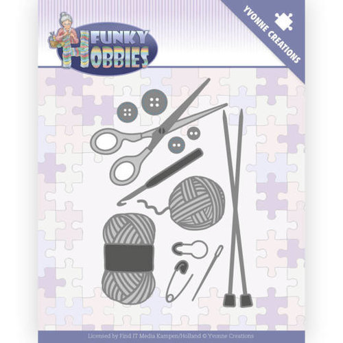 Yvonne Creations YCD10230 - Mal - Yvonne Creations - Funky Hobbies - Knitting