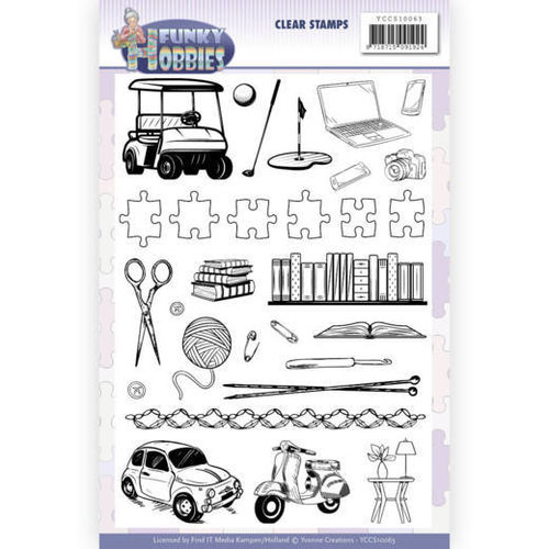 Yvonne Creations YCCS10063 - Stempel - Yvonne Creations - Funky Hobbies