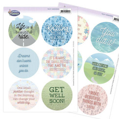 YCTD1004 - Text Designs - Yvonne Creations - Funky Hobbies (EN)