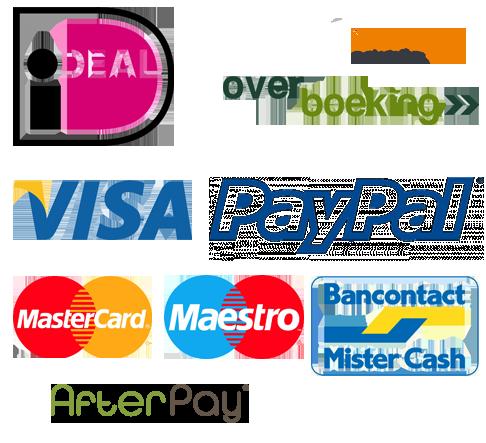 Betaalmogelijkheden - kies de door u gewenste betaalmethode!
