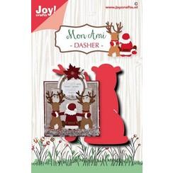 6002/1585 - 6002/1585 - Joy! Crafts Stans-embosmal - Noor - Rendier Dasher 6002/1585 74,5mm