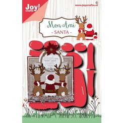 6002/1586 - 6002/1586 - Joy! Crafts Stans-embosmal - Noor - Santa 6002/1586 87,5mm(11-20)