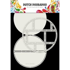 470.713.833 - Dutch Doobadoo Card Art Easel card Cirkel 2st A4 470.713.833