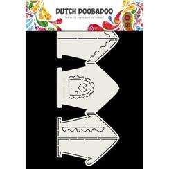 470.713.834 - Dutch Doobadoo Card Art Gingerbread House A4 470.713.834