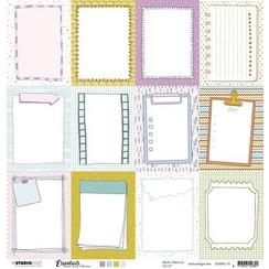 SCRAPSL116 - Studio Light  Essentials Planners Scrap Collection nr. 104 SCRAPSL116 304x304 mm 200gr