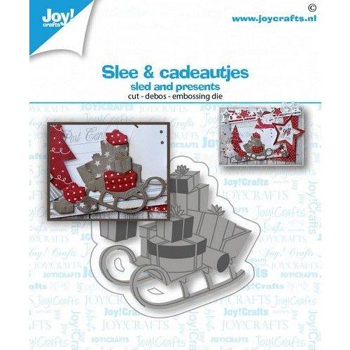 Joy!Crafts 6002/1582 - Joy! Crafts Stans-debos-embosmal - Slee & Cadeautjes 6002/1582 52x49mm