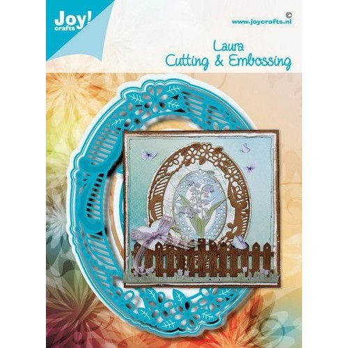 Joy!Crafts 6002/1589 - Joy! Crafts Stans-embosmal - Noor - Laura 6002/1589 120,5x94,5 mm