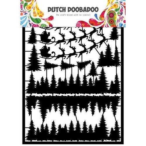 Dutch Doobadoo 472.950.009 - Dutch Doobadoo Dutch Paper Art A5 Santa 472.950.009