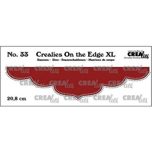 Crealies  - Crealies On the edge XL Die stans no 33 CLOTEXL33 20,8cm