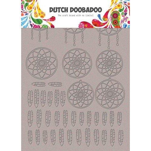Dutch Doobadoo 492.006.007 - Dutch Doobadoo Greyboard Art Dromenvangerr A5 492.006.007