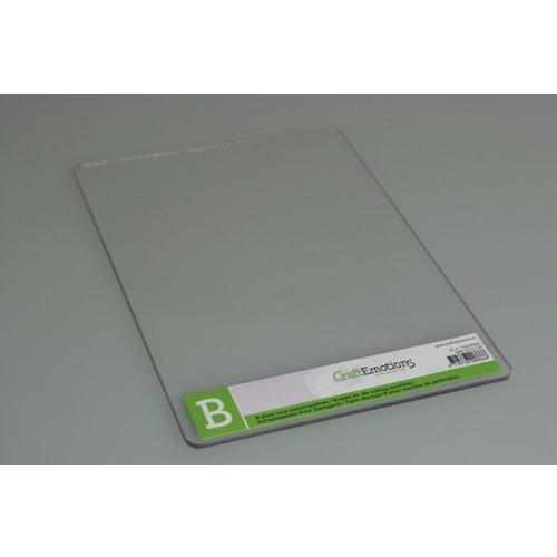Cricut B-Plaat voor de Cuttlebug machine - 3mm