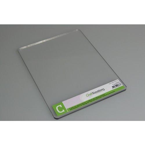 Cricut C-plaat voor de Cuttlebug machine - 5mm