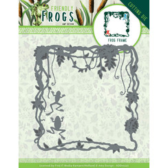ADD10227 - Mal - Amy Design - Friendly Frogs - Frog Frame