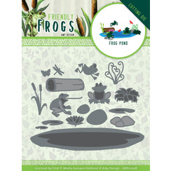 ADD10228 - Mal - Amy Design - Friendly Frogs - Frog Pond