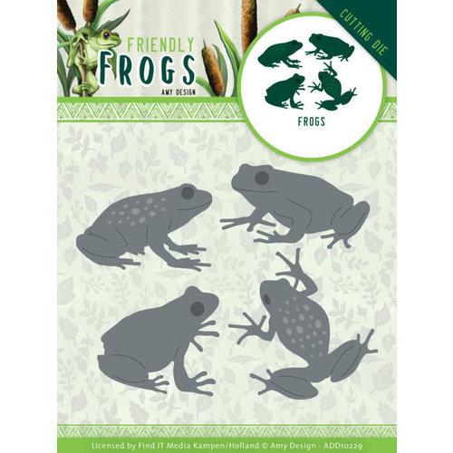 ADD10229 - Mal - Amy Design - Friendly Frogs - Frog