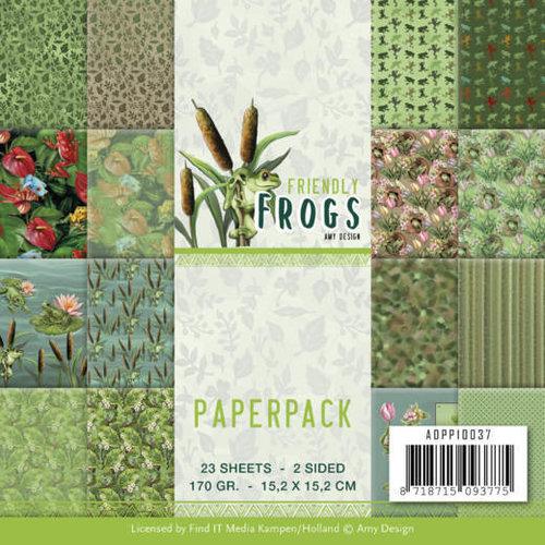 ADPP10037 - Papierpak - Amy Design - Friendly Frogs