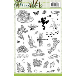 ADCS10072 - Stempel - Amy Design - Friendly Frogs