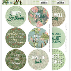 ADTD1006 - Text Designs - Amy Design - Friendly Frogs (EN)