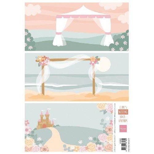 Marianne Design AK0083 - Elines wedding background