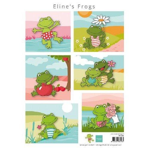 Marianne Design AK0084 - Elines Frogs