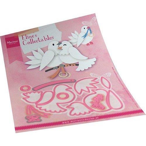Marianne Design COL1492 - Elines pigeons