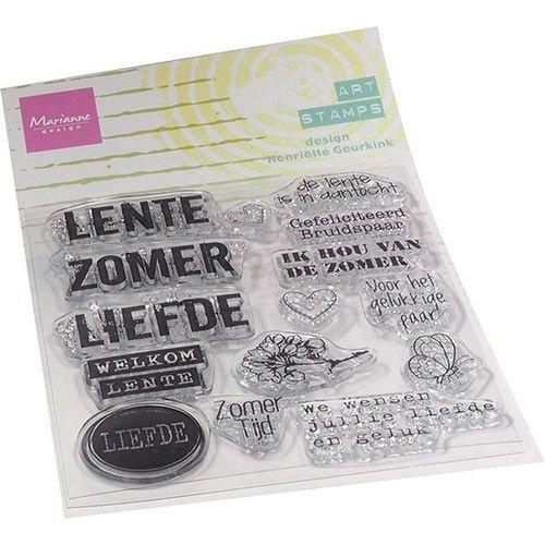 Marianne Design MM1638 - Art stamps - Zomertijd