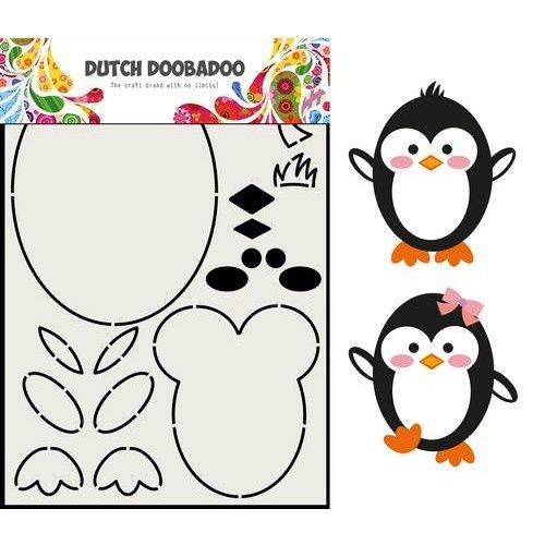 Dutch Doobadoo 470.713.842 - Dutch Doobadoo Card Art Built up Pinguin A5