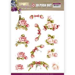 SB10515 - Uitdrukvel - Precious Marieke - Romantic Roses - Pink Rose
