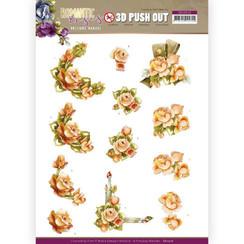 SB10516 - Uitdrukvel - Precious Marieke - Romantic Roses - Orange Rose
