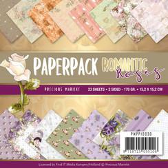 PMPP10030 - Papierpak - Precious Marieke - Romantic Roses