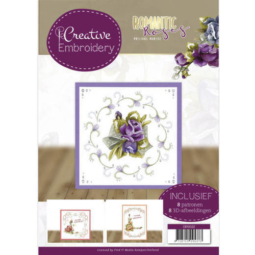 Yvonne Creations CB10022 - Creative Embroidery 22 - Precious Marieke - Romantic Roses