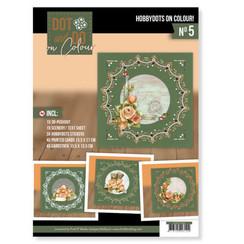 DODOOC10005 - Dot and Do on Colour 5 - Precious Marieke - Romantic Roses