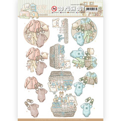 SB10520 - Uitdrukvel - Yvonne Creations - Newborn - Baby Clothes