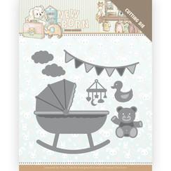 YCD10231 - Mal - Yvonne Creations - Newborn - Baby Crib