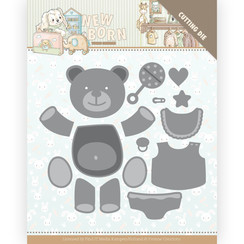 YCD10232 - Mal - Yvonne Creations - Newborn - Build Up Bear