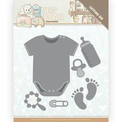YCD10233 - Mal - Yvonne Creations - Newborn - Baby Bodyvest