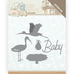 YCD10234 - Mal - Yvonne Creations - Newborn - Stork