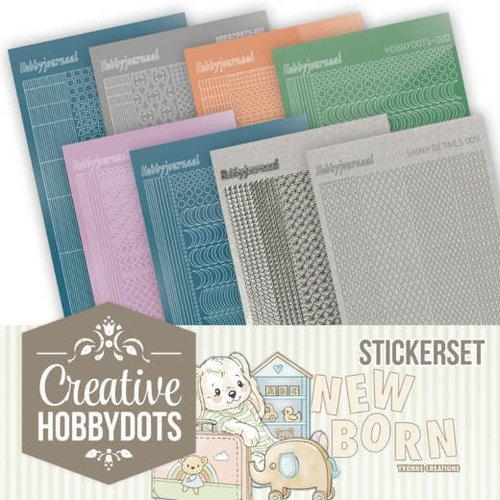 Yvonne Creations CHSTS011 - Creative Hobbydots Stickerset 11 - Yvonne Creations - Newborn