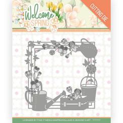 JAD10111 - Mal - Jeanines Art  Welcome Spring - Spring Frame