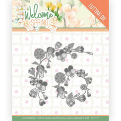 JAD10115 - Mal - Jeanines Art  Welcome Spring - Spring Garland