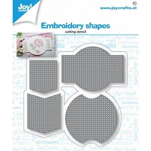 Joy!Crafts 6002/1432 - Joy! Crafts Snijstencil - Borduur vormen 78x76 mm