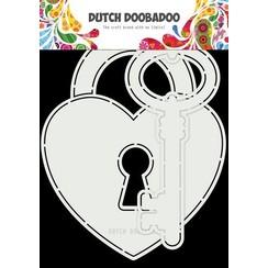 Dutch Doobadoo Card Art Key to my heart 2st 470.713.844