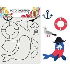 Dutch Doobadoo Card Art Built up Zeeleeuw 470.713.849