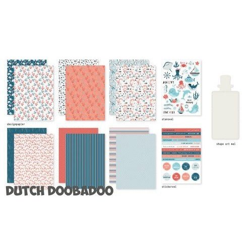 Dutch Doobadoo Dutch Doobadoo Crafty Kit Sea Bottom 473.005.003 A5