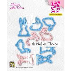 Nellies Choice Shape Die - Hazen 1 SD186 26x32mm