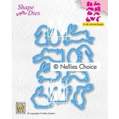 Nellies Choice Shape Die - Hazen 2 SD187 26x32mm