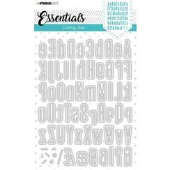 Studio Light Cutting Die Alphabet Tall Essentials nr.390 STENCILSL390 137x197mm