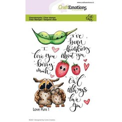 CraftEmotions clearstamps A6 - Love Puns 1 Carla Creaties