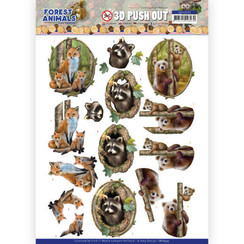 SB10535 - Uitdrukvel - Amy Design  Forest Animals - Fox