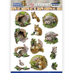 SB10537 - Uitdrukvel - Amy Design  Forest Animals -Rabbit
